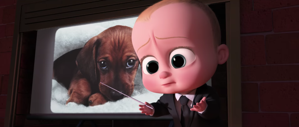 "What is the Oscar-nominated ""Boss Baby"" about? Well, obviously it's about babies and puppies trying to take over the world"