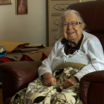 """This 99-year-old hostage was freed after she told her captor to """"knock it off,"""" is our hero"""