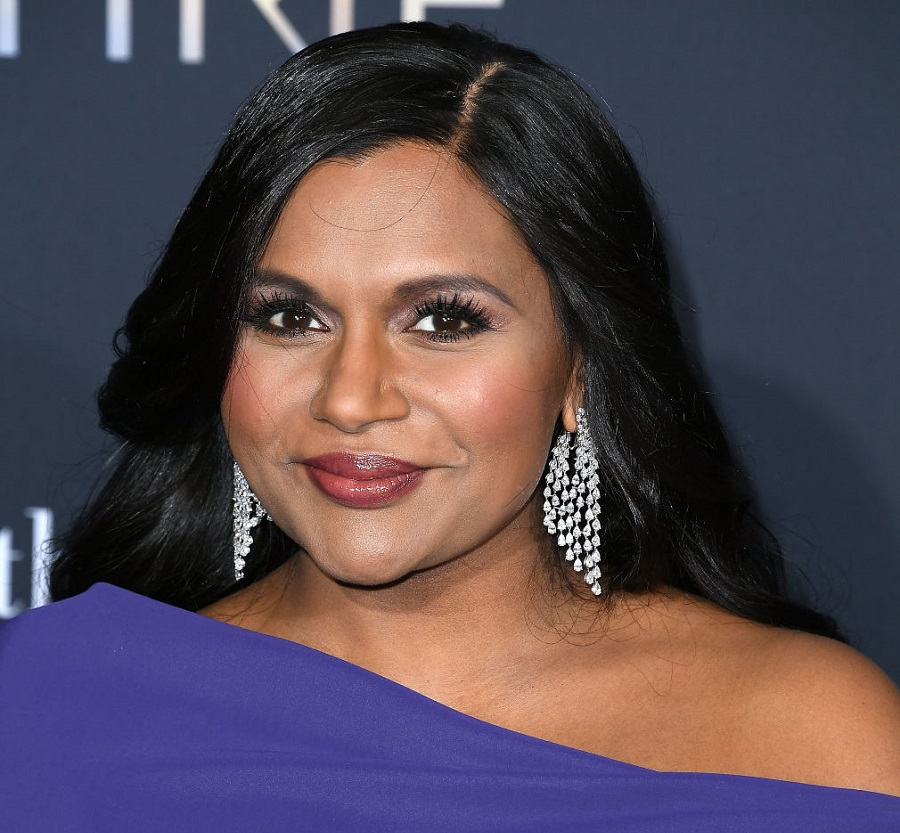 Mindy Kaling opened up about her new daughter in a rare candid moment
