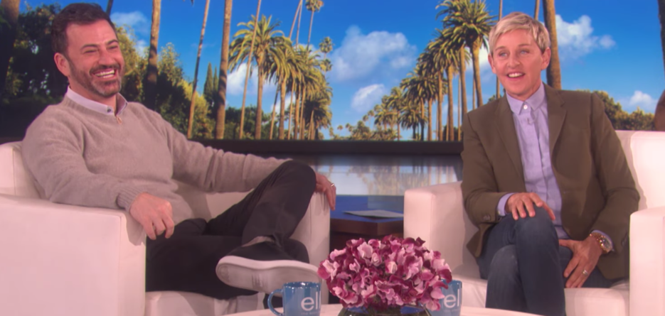 Ellen DeGeneres dedicated a hospital room to Jimmy Kimmel's son, and now we're all crying