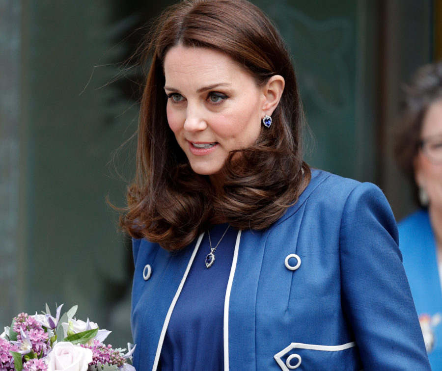 Kate Middleton had an emotional reunion with the midwife who helped deliver Princess Charlotte, and aww