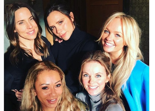 Mel B basically confirmed that the Spice Girls will perform at the royal wedding, and stop right now!