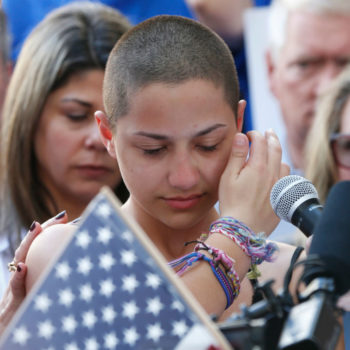 In the fight for gun control, children are the real grown-ups