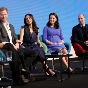 Kate, Will, Meghan, and Harry made their first official appearance as a royal foursome, and the world is freaking out
