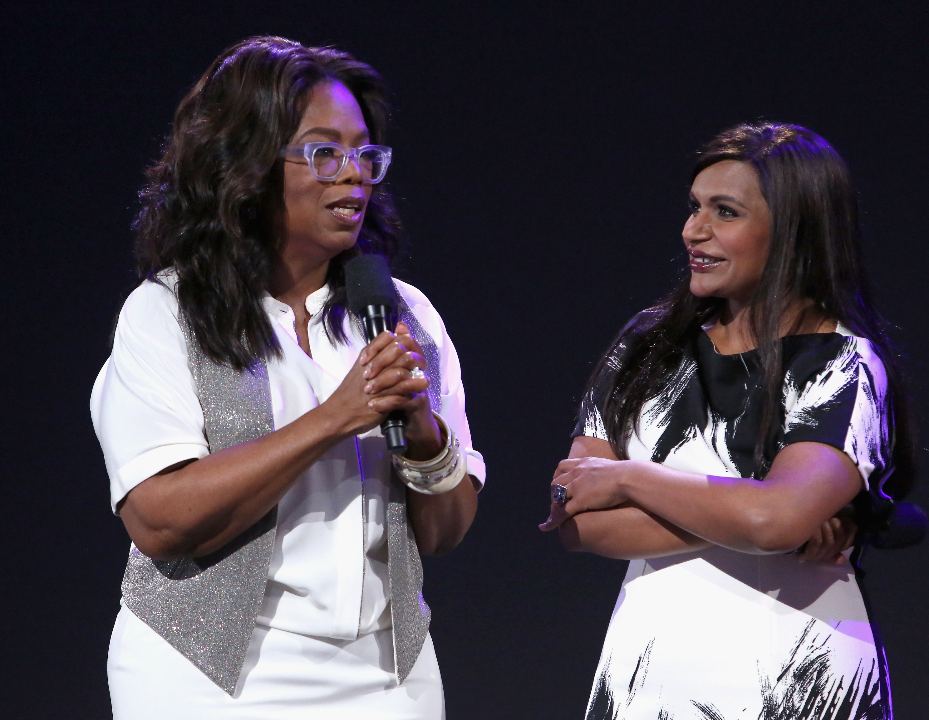 Oprah gave Mindy Kaling the most *extra* baby gift ever