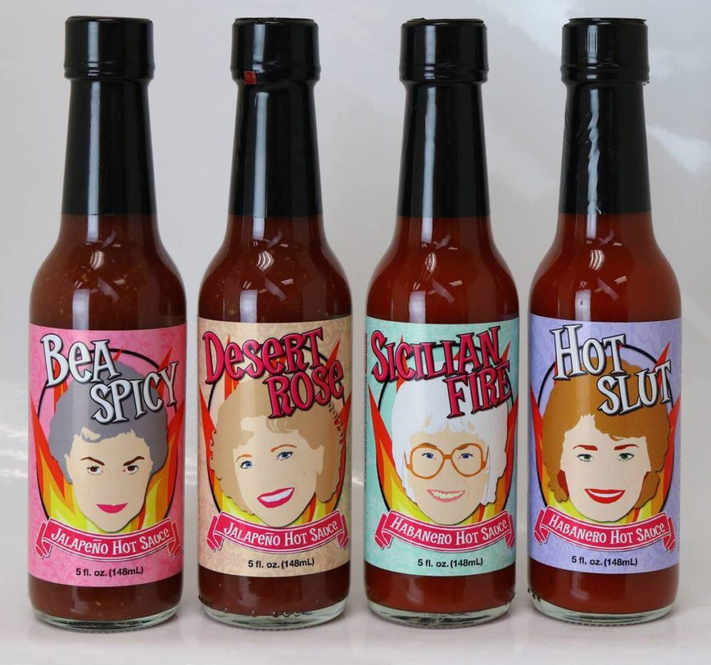 """Golden Girls"" hot sauce is a thing — and it's as spicy as Blanche"