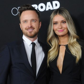 Aaron Paul's wife Lauren opened up about the breastfeeding issue no one talks about