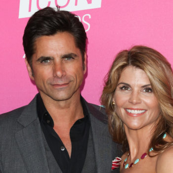 Lori Loughlin revealed how her husband handles fans who think she should have married John Stamos