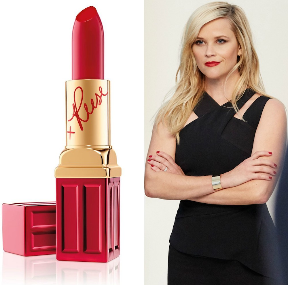 Reese Witherspoon And Elizabeth Arden March On Campaign Red Door