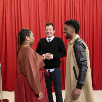 """Watch Chadwick Boseman surprise unsuspecting """"Black Panther"""" fans and yes, it will make you cry"""