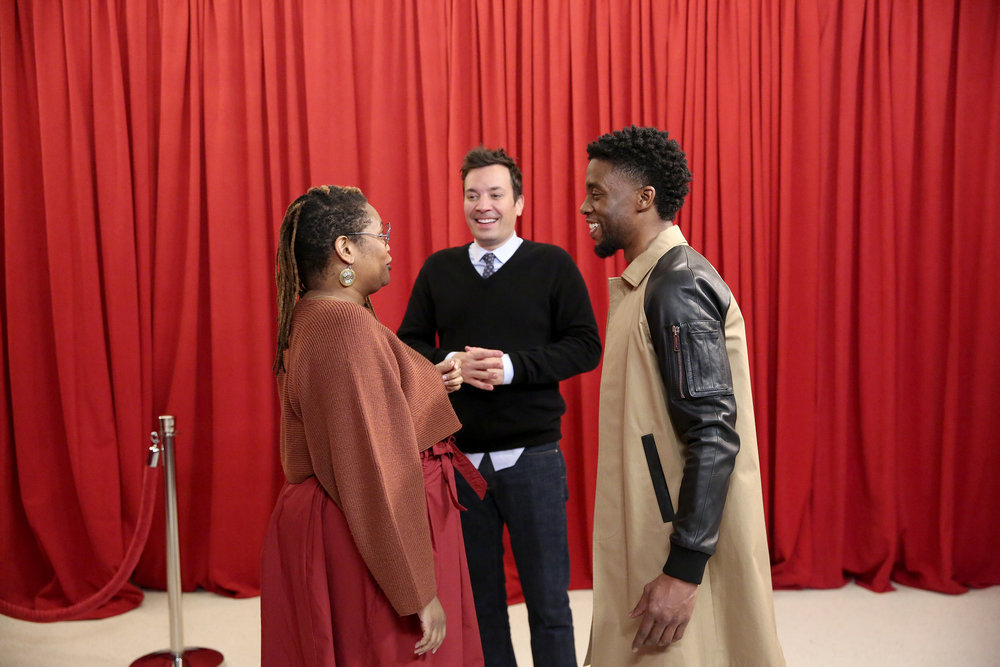 "Watch Chadwick Boseman surprise unsuspecting ""Black Panther"" fans and yes, it will make you cry"