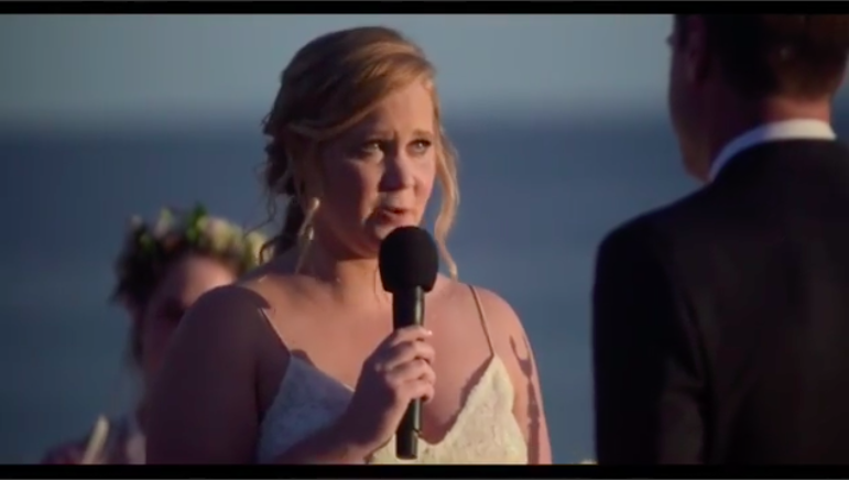 Amy Schumer released the video of her wedding vows, and we're ugly laugh-crying