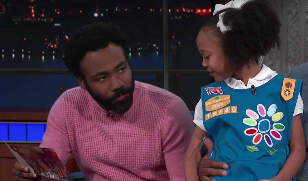 Donald Glover just bought 113 boxes of Girl Scout Cookies — because he can