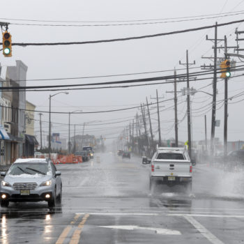 Will a bomb cyclone affect New Jersey today?