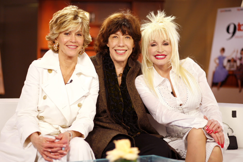 "A ""9 to 5"" reboot might actually happen — and Dolly Parton, Jane Fonda, AND Lily Tomlin are all on board"