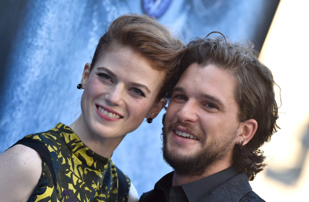 "Here's the clever way Rose Leslie avoids ""Game of Thrones"" spoilers from fiancé Kit Harington"