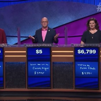 """Two """"Jeopardy!"""" contestants competed in a sudden death tiebreaker for first time ever, and we didn't even know that was a thing"""