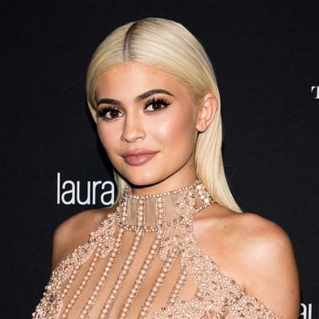 Kylie Jenner shared a picture of Stormi's face, confirming that she's an absolute angel