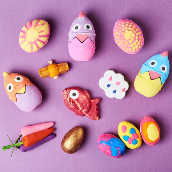 Lush's 2018 Easter collection is here, and it's eggs-tremely colorful