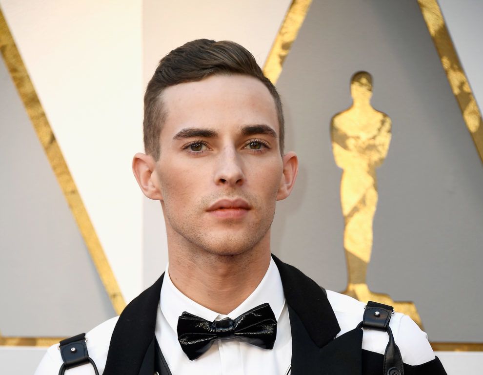 Olympian Adam Rippon wore a bondage harness on the Oscars red carpet