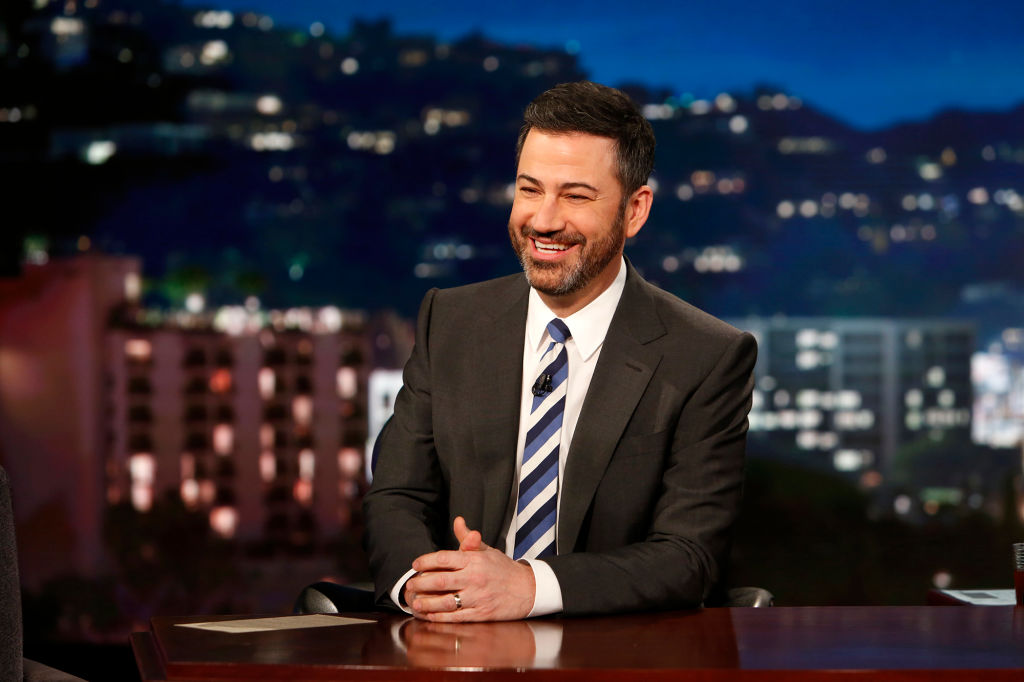 What is Jimmy Kimmel's net worth? We just spat out our wine