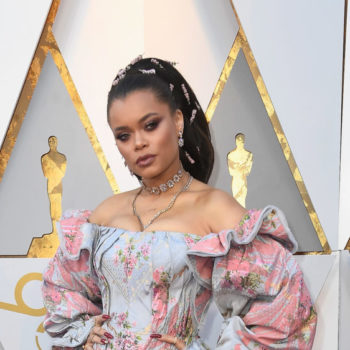 Singer Andra Day's red carpet look is straight-up Rapunzel IRL