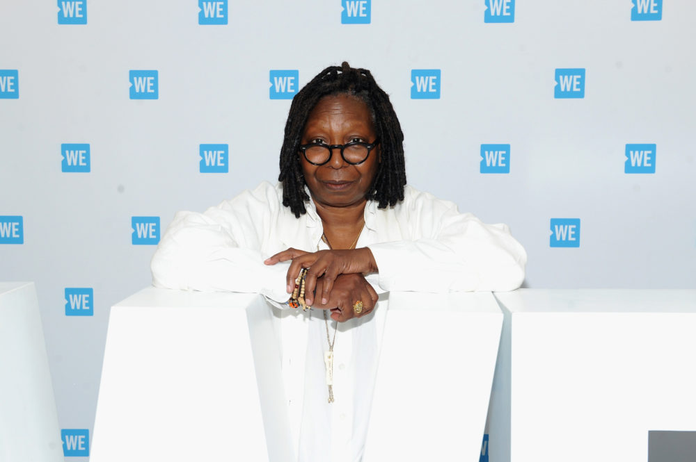 Whoopi Goldberg just showed off her incredible tattoo on the 2018 Oscars red carpet