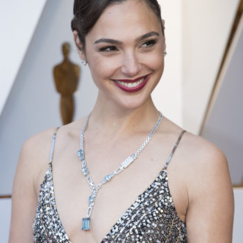Gal Gadot keeps wearing this $6 red lipstick at every awards show