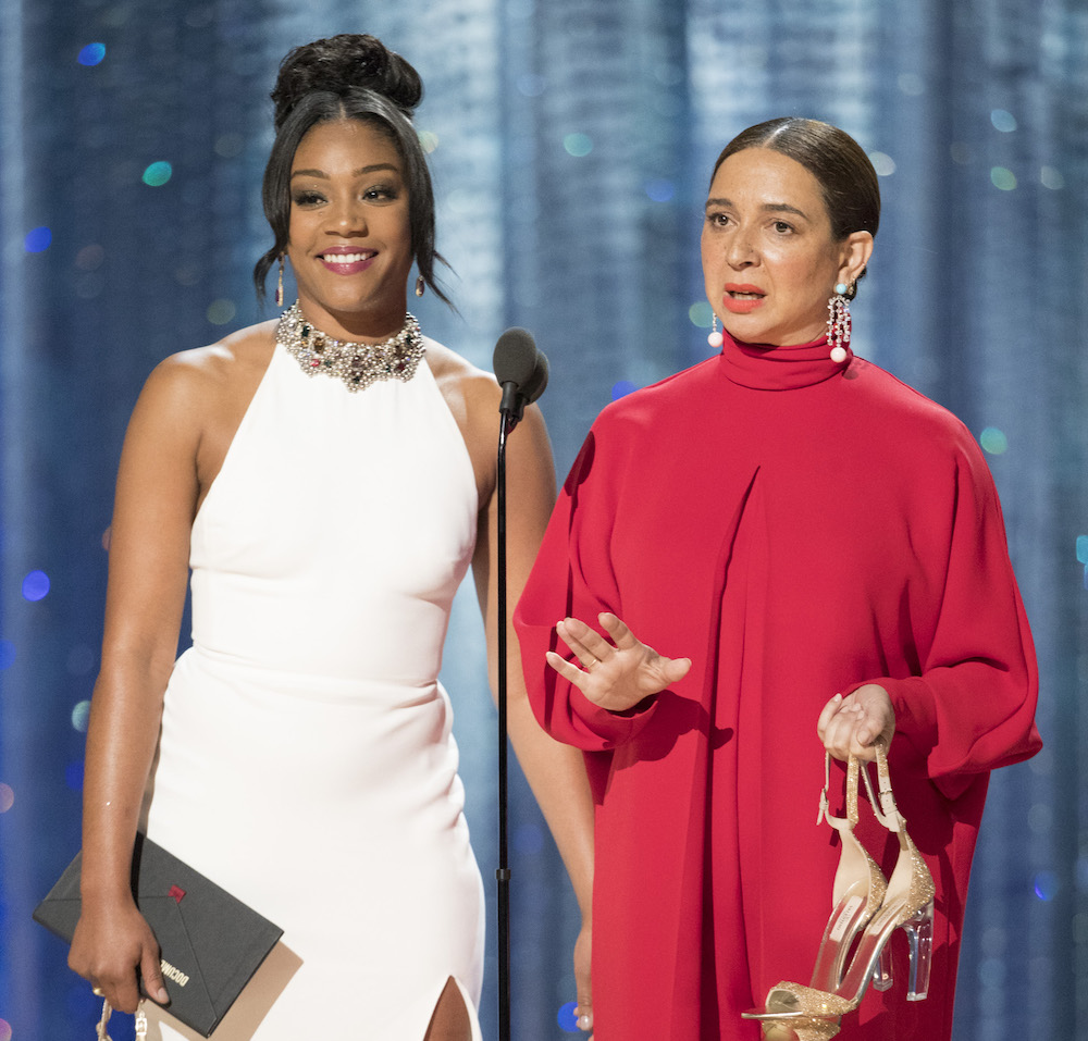 Tiffany Haddish wore Ugg slippers while presenting an Oscar, and she deserves her own award
