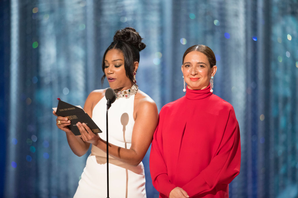 Maya Rudolph and Tiffany Haddish pointed out the lack of representation at the 2018 Oscars and we're here for it