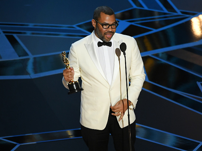 "Twitter is freaking out over Jordan Peele's historic 2018 Oscar win for ""Get Out"""