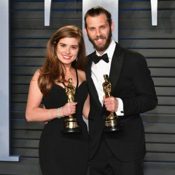 Who is Rachel Shenton, the winner who signed her entire 2018 Oscars acceptance speech?
