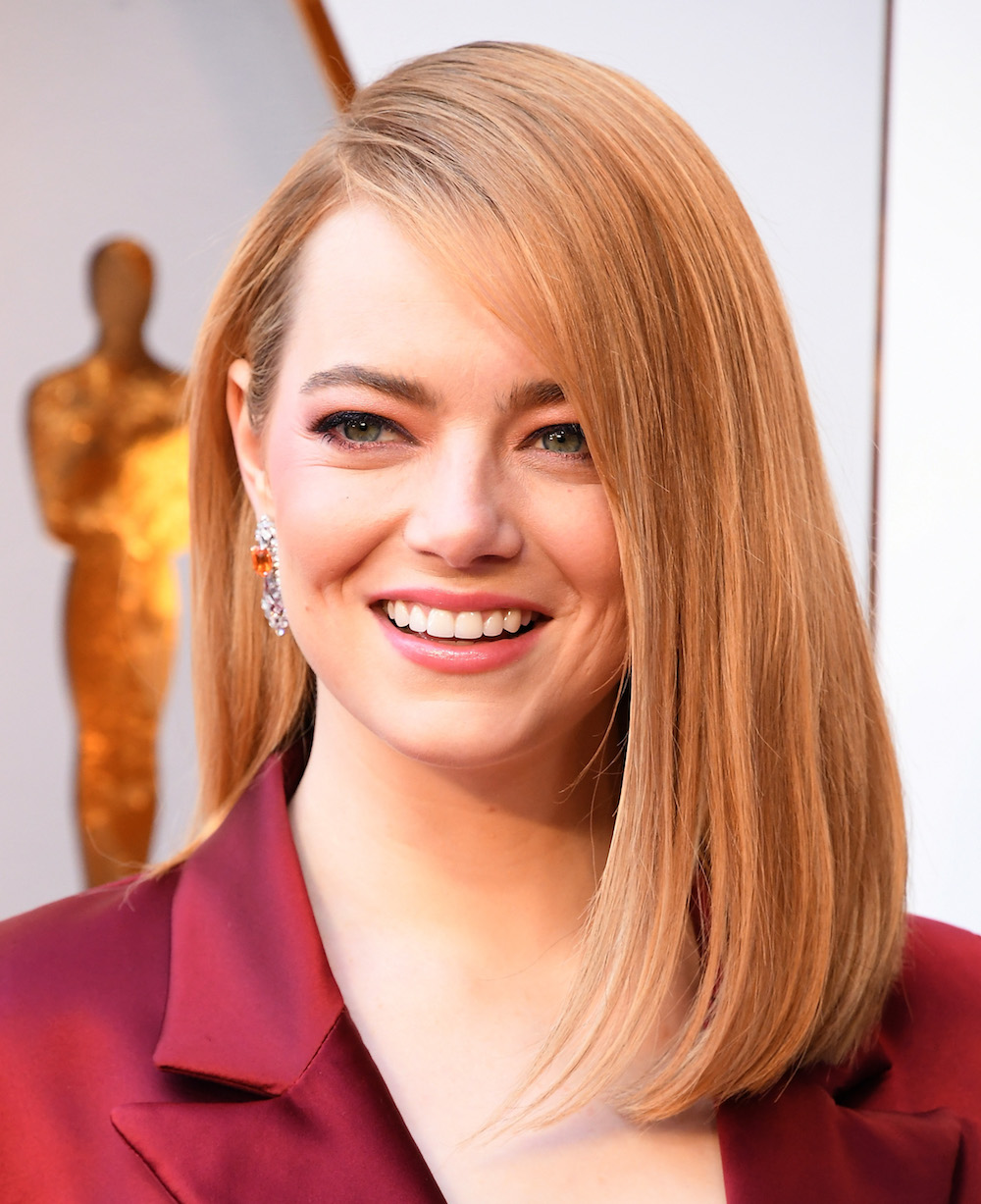 Emma Stone wore this $9 beauty product at the 2018 Oscars, and it's Queen Elizabeth-approved