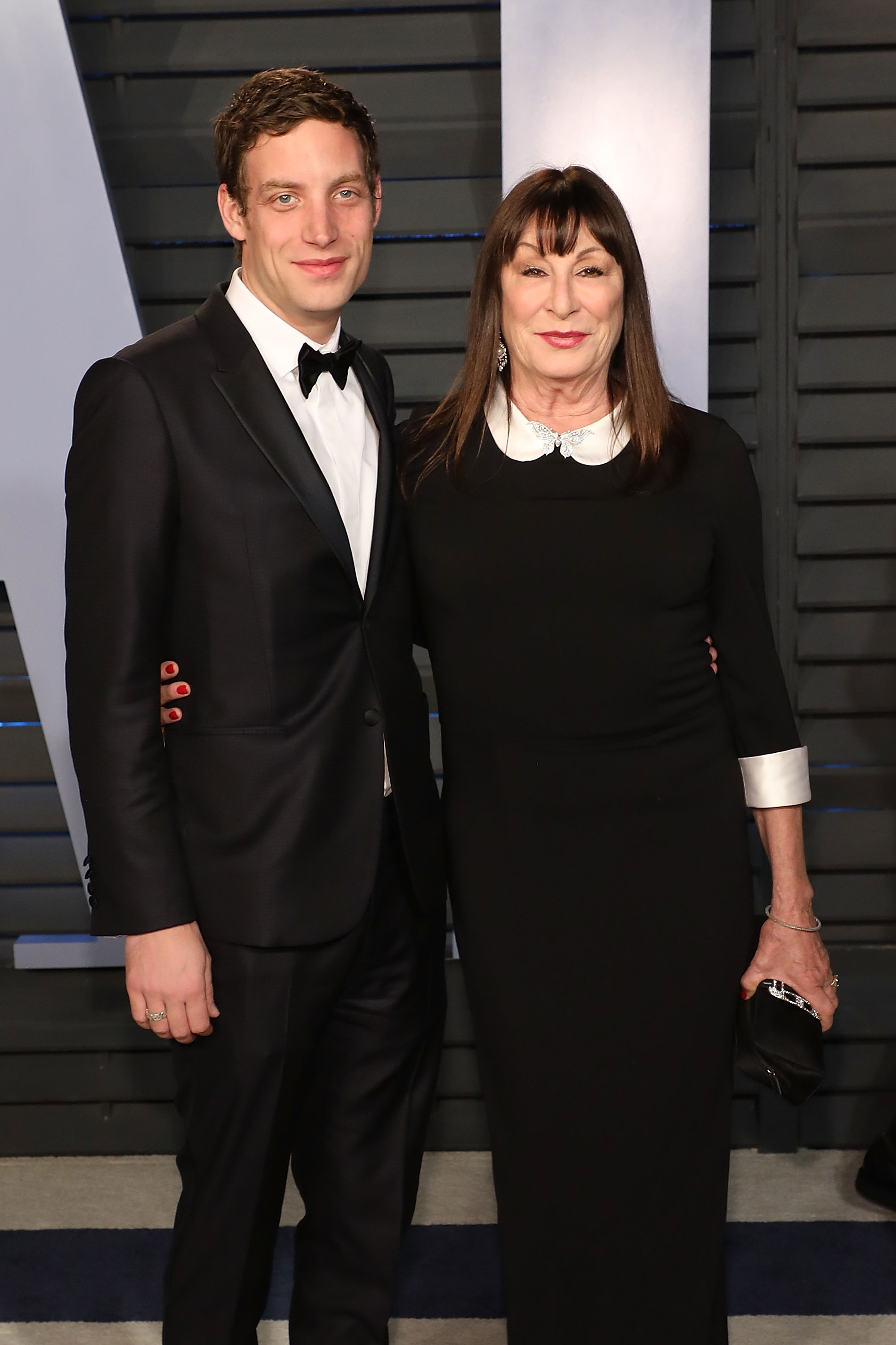 Anjelica Huston Dressed Like Wednesday Addams At A 2018 ...