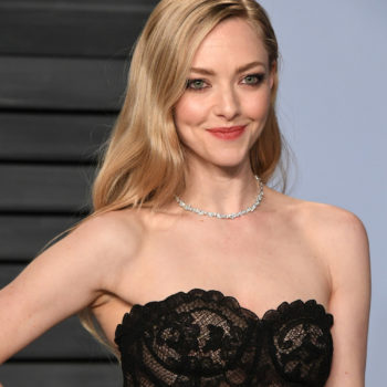 Amanda Seyfried only used $4 hair products to achieve her old Hollywood waves at the 2018 Oscars after-party