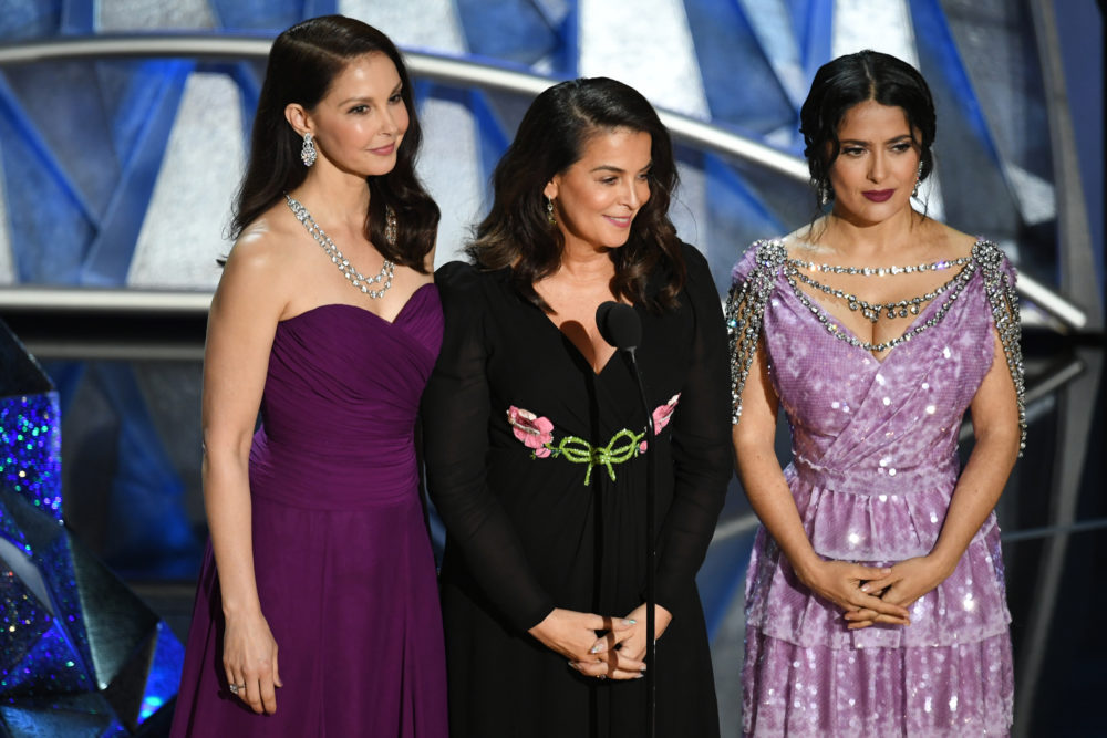 The most powerful moments from the #MeToo and Time's Up segment at the Oscars