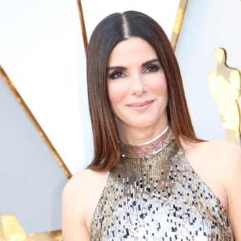 "Sandra Bullock cried for the sweetest reason when she met the ""Black Panther"" cast"