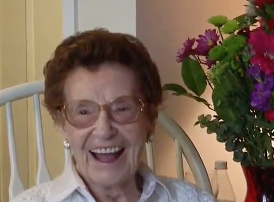 This 100-year-old woman says the key to a long life is beer and potato chips, and we're not gonna argue