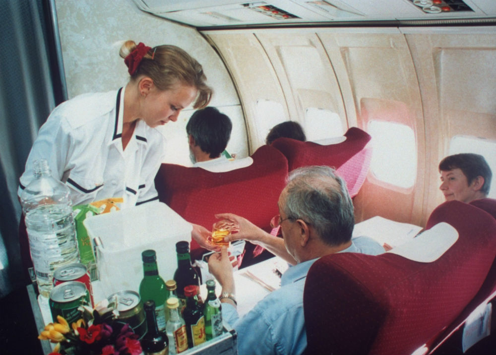 Guess what? Flight attendants hate it when you order Diet Coke on an airplane
