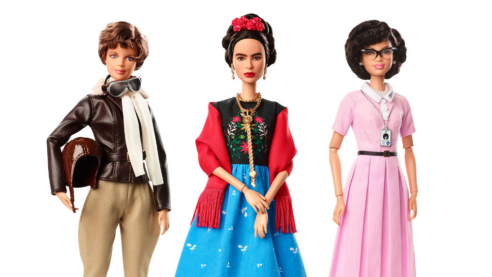 Barbie is creating dolls of real women (like Frida Kahlo!) in honor of International Women's Day
