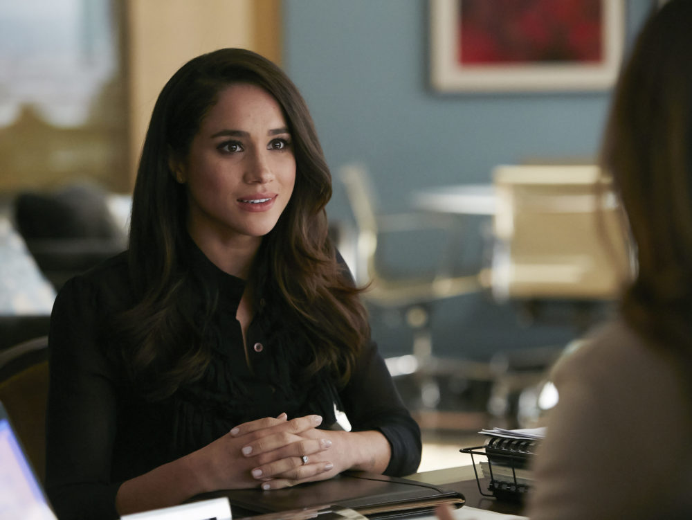 "The teaser for Meghan Markle's final season on ""Suits"" is all about Rachel's wedding, because sometimes art imitates life"
