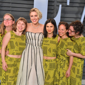 There's a reason Greta Gerwig's friends showed up to the Oscar after-party in matching dresses, and yes, you will cry