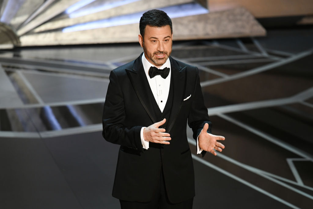 Trump took a dig at this year's Oscars ratings, Jimmy Kimmel clapped back hard