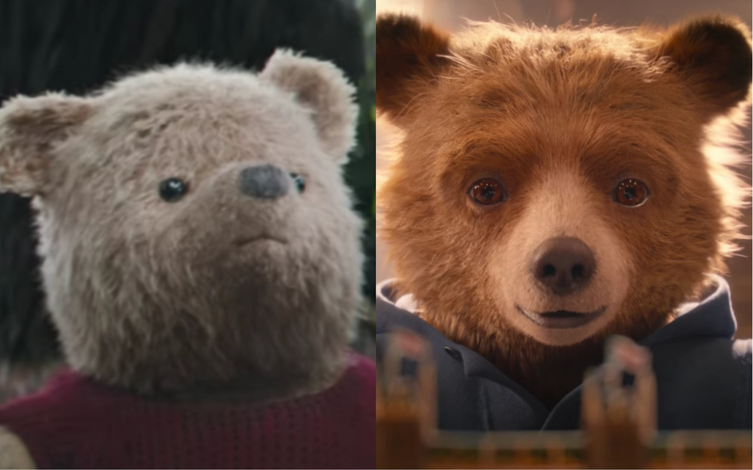 twitter is arguing in a heated pooh vs  paddington debate