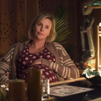 "Charlize Theron wants you to stop calling her <em>Tully</em> weight gain ""brave"" — unless regular moms get the same honor"