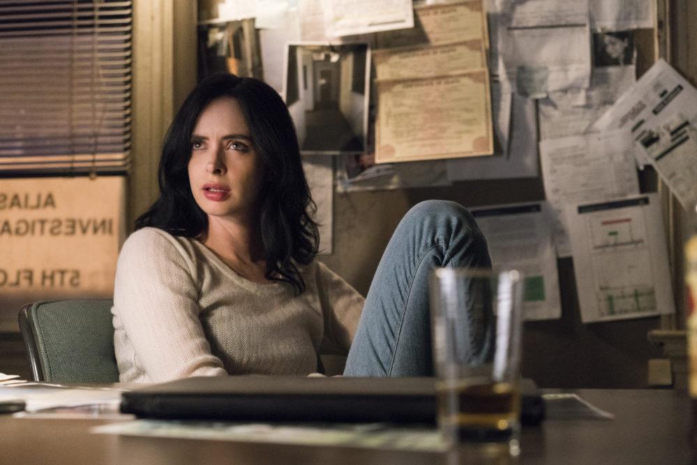 "Krysten Ritter feels ""safe"" with all female directors for Season 2 of ""Jessica Jones"""