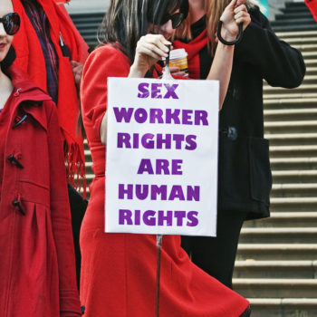 Don't forget that sex workers' rights should also be discussed on International Women's Day