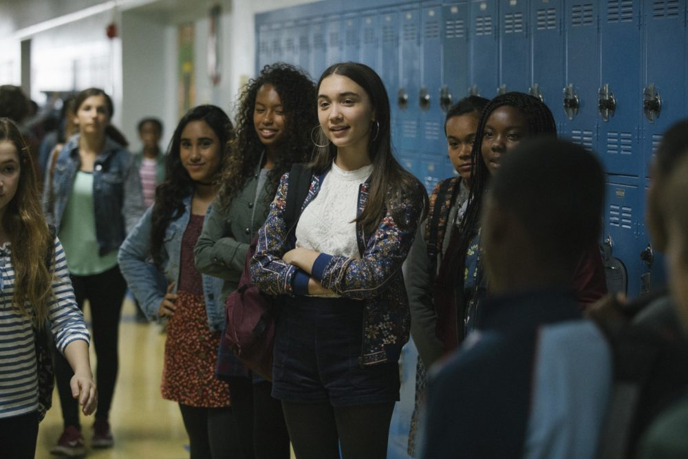"Rowan Blanchard improvised her most heartbreaking scene in ""Wrinkle In Time"""