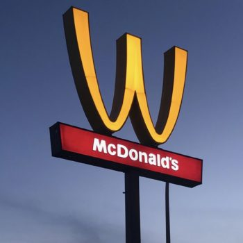 """Where will McDonald's flip its arches? Don't expect to drive past a """"W"""" today"""