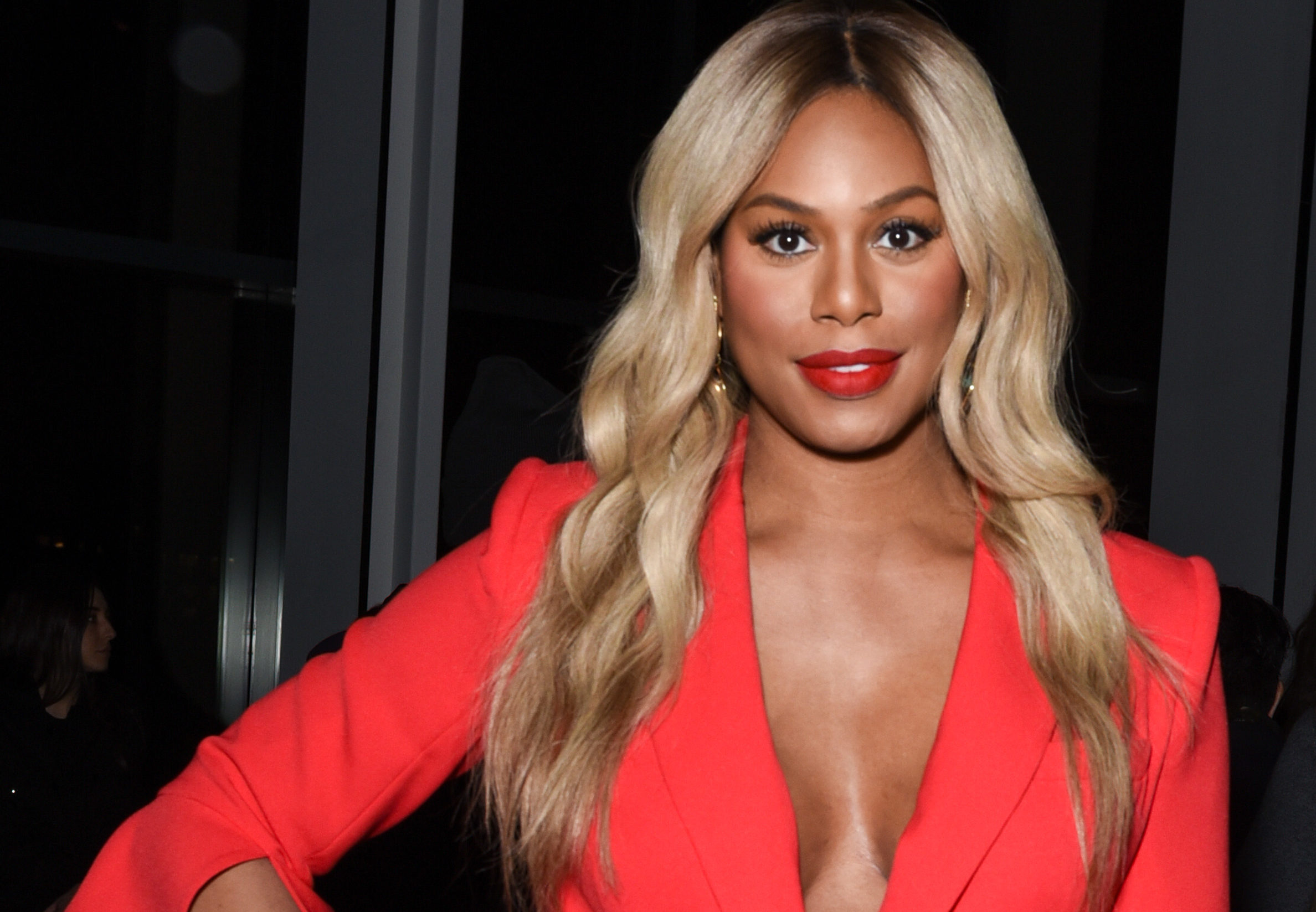 Laverne Cox met her boyfriend on Tinder, so stay hopeful y'all